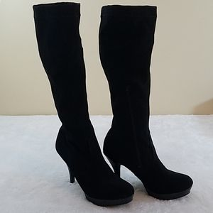 Unlisted by Kenneth Cole Sz 8 Group File Blk Boots